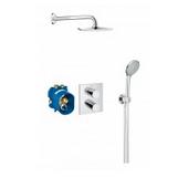 Podtynkowy system prysznicowy