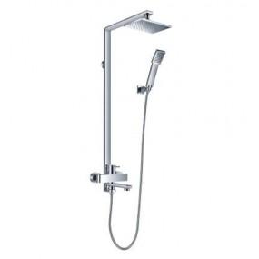 Omnires Darling system wannowy / prysznicowy natynkowy chrom - 767898_O1