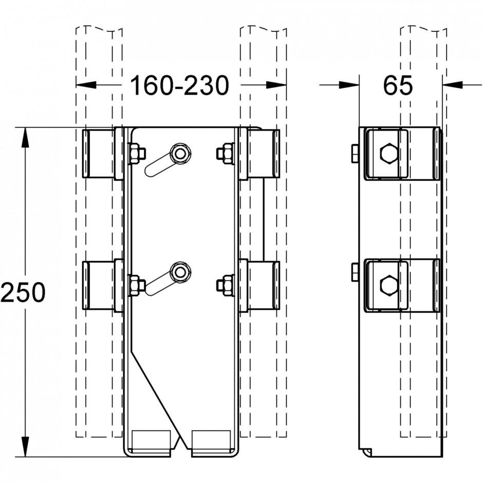 Grohe Rapid Pro el. mocujący - T1