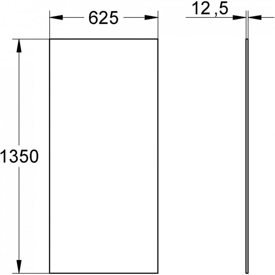 Grohe Rapid Pro okładzina wodoodporna - T1