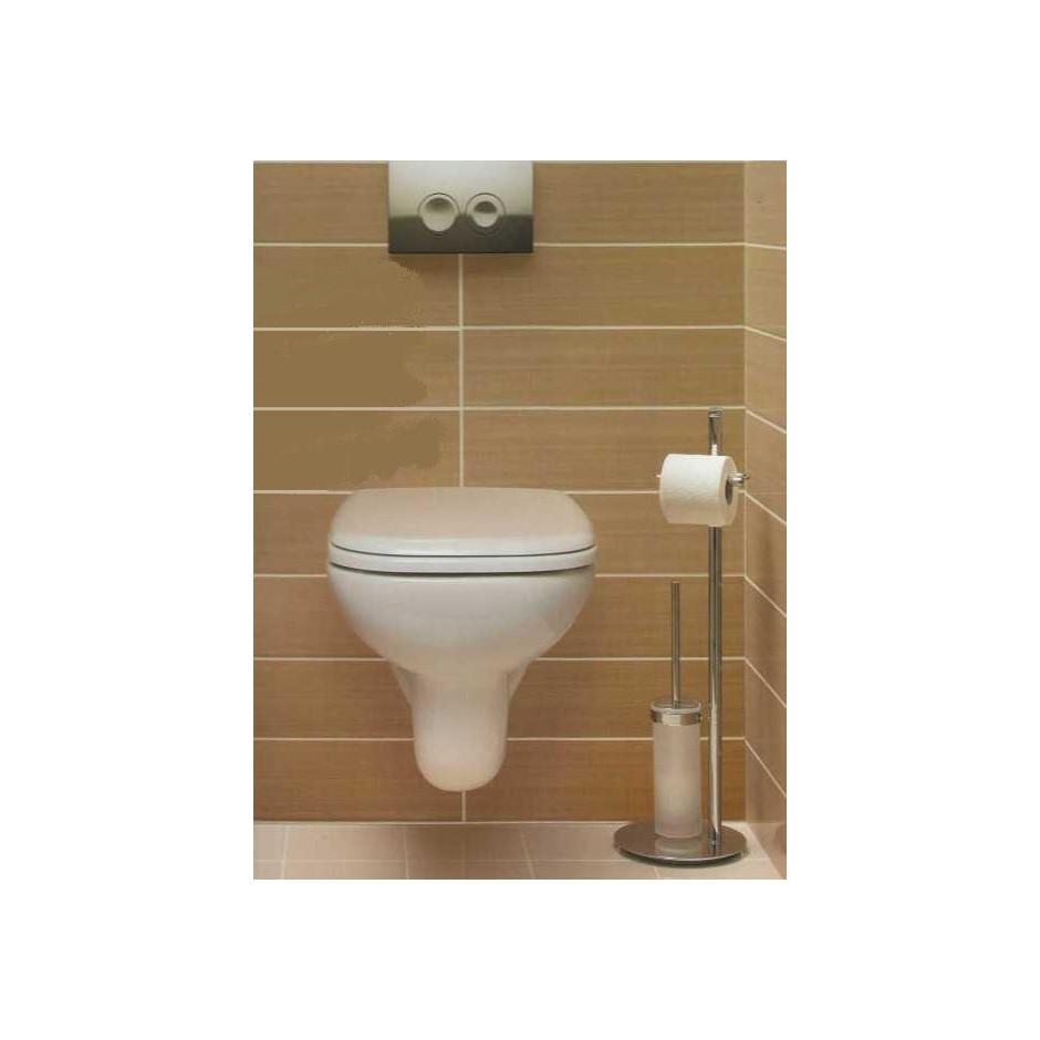 Duravit D-Code Zestaw miska WC wisząca 48x35 z deską zwykłą (22110900002+0067310000) - 436300_A1