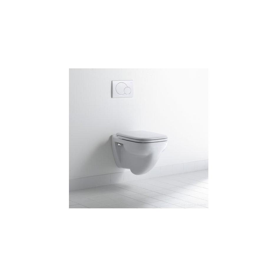 Duravit D-Code Zestaw miska WC wisząca 48x35 z deską zwykłą (22110900002+0067310000) - 436300_A2