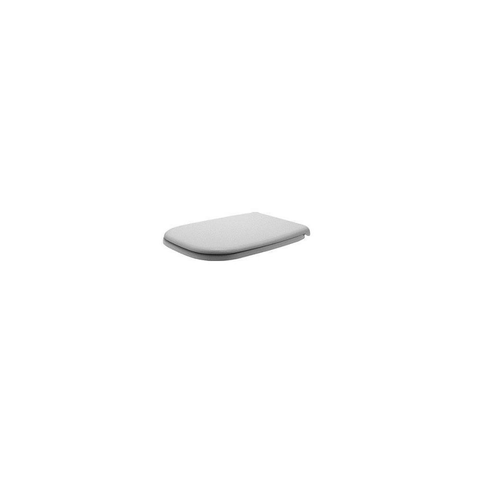 Duravit D-Code Zestaw miska WC wisząca 48x35 z deską zwykłą (22110900002+0067310000) - 436300_O3