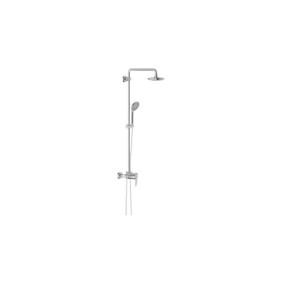 grohe 27473000 euphoria bateria prysznicowa deszczownica 180 mm chrom. Black Bedroom Furniture Sets. Home Design Ideas