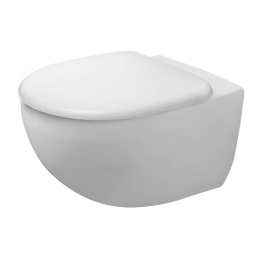 Duravit Architec Miska wisząca WC bezrantowa + deska sedesowa w/o - 794780_O1