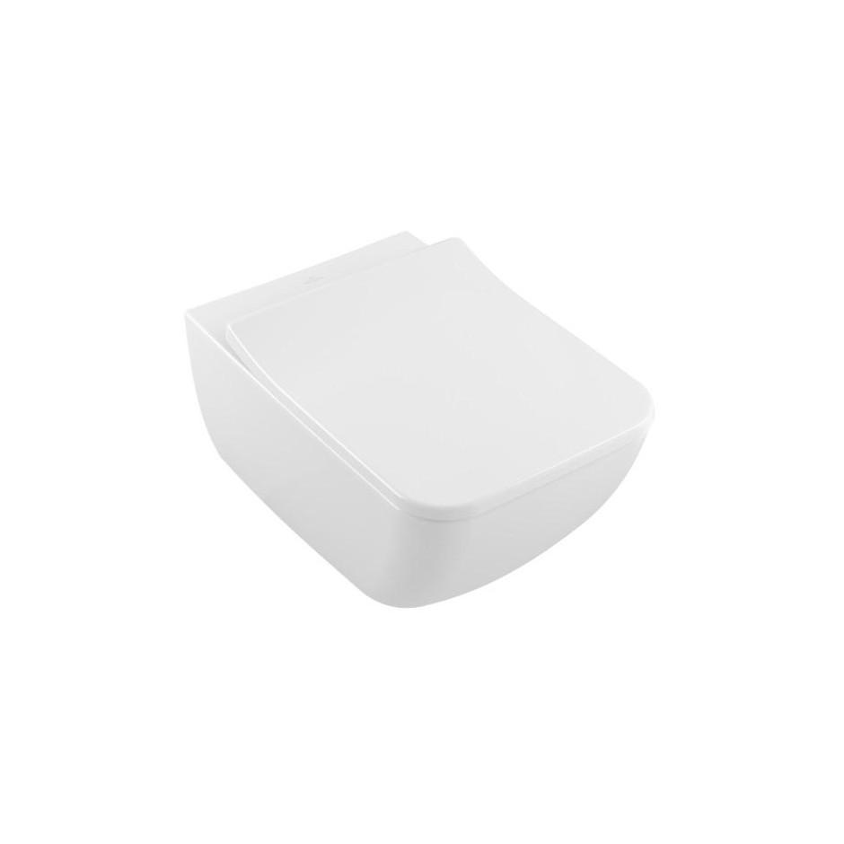 Villeroy & Boch Venticello zestaw miska WC bezrantowa DirecFlush + deska (4611R0R1+ 9M79S101) - 688062_O2