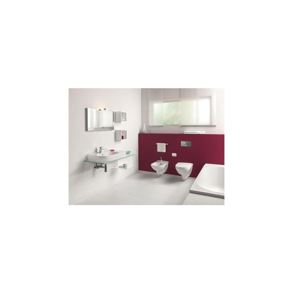 Villeroy & Boch O.Novo Zestaw miska WC wisząca Weiss Alpin 360x560 mm z deską wolnoopadającą ( 56601001 +9M38S101) - 425774_A2