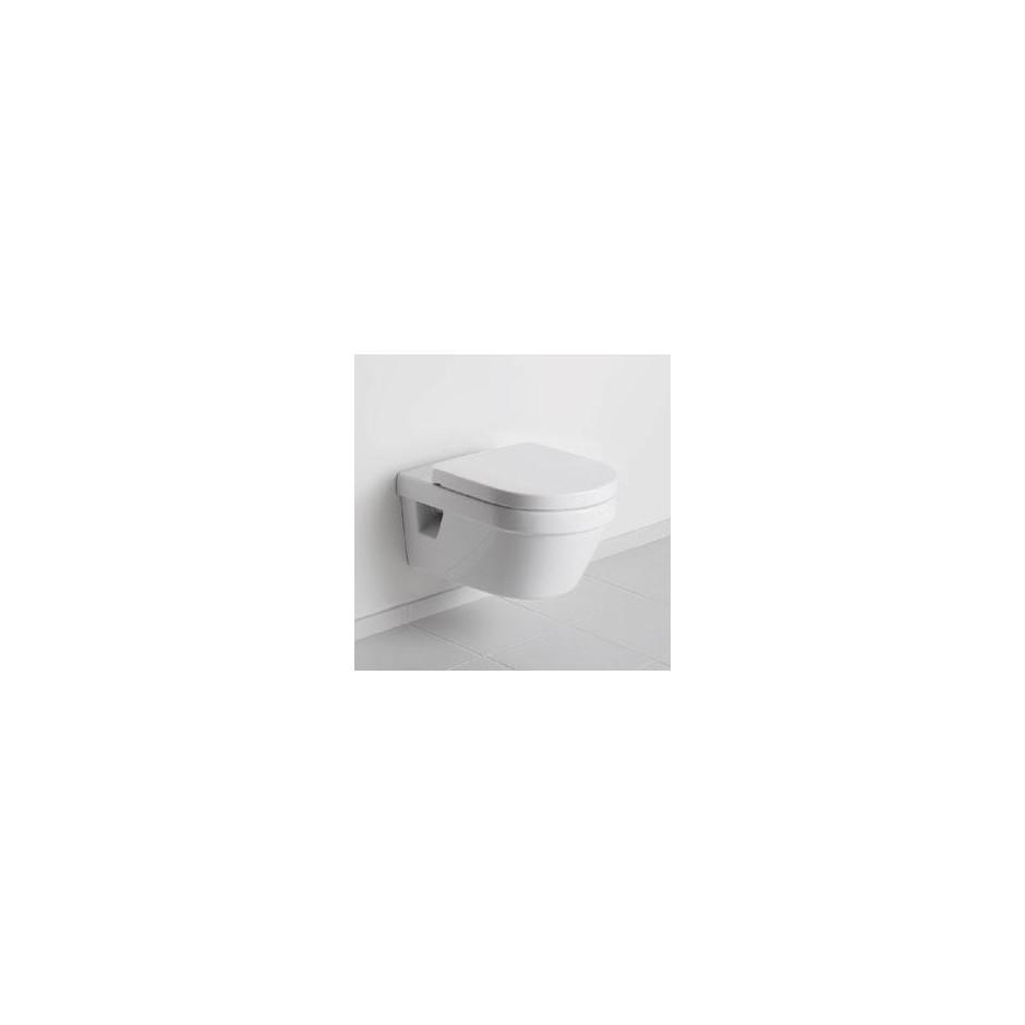 Villeroy & Boch Architectura - Zestaw miska wisząca bezrantowa + deska (5684R001+98M9C101) - Weiss Alpin - 464305_O2