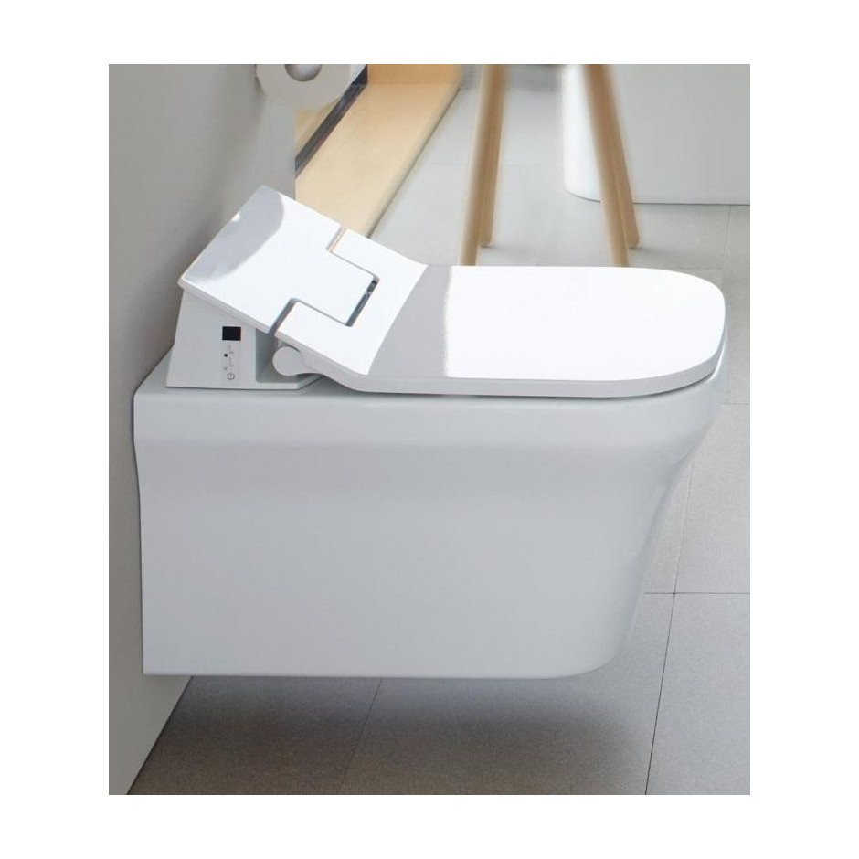duravit 611400002004300 p3 comforts deska do wc wolnoopadaj ca z funkcj. Black Bedroom Furniture Sets. Home Design Ideas