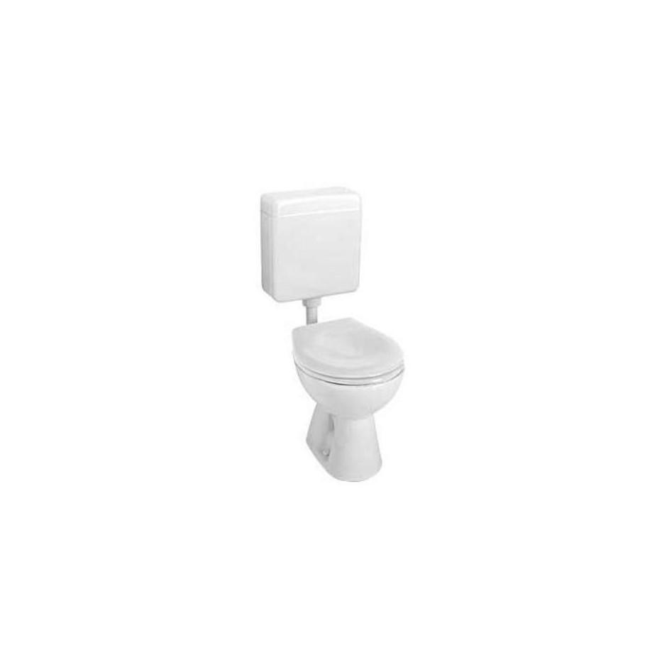 Koło Nova Pro Junior miska WC stojąca odpływ poziomy - 6037_O1