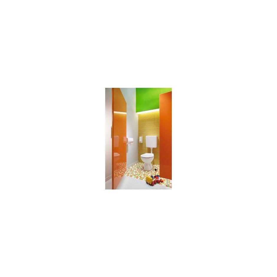 Koło Nova Pro Junior miska WC stojąca odpływ poziomy - 6037_O2