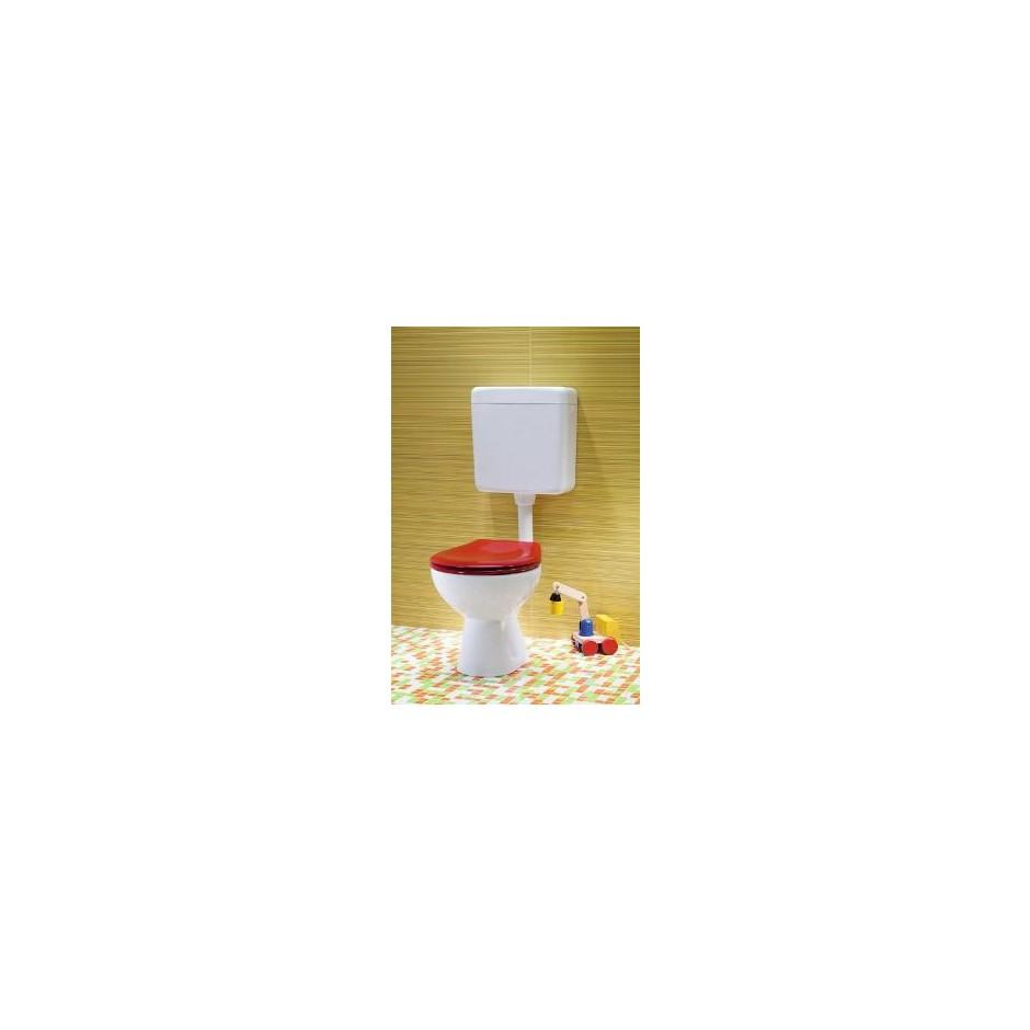 Koło Nova Pro Junior miska WC stojąca odpływ poziomy - 6037_O3