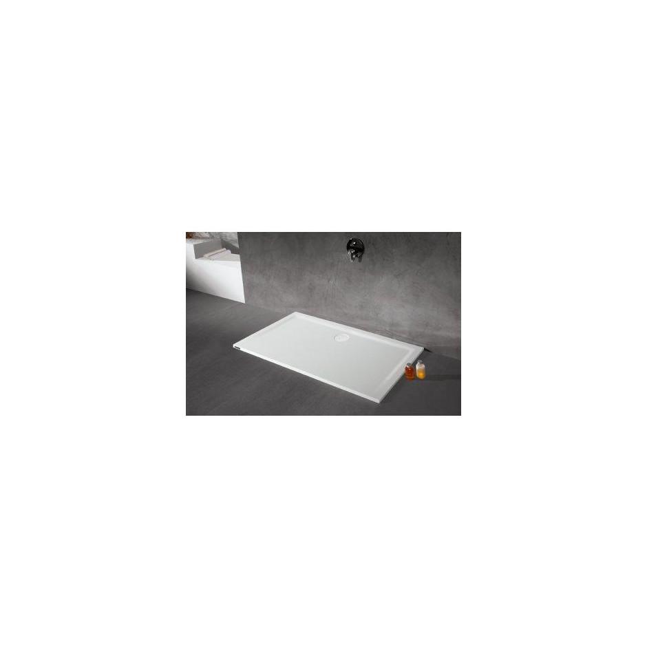 Sanplast Brodzik B-M/SPACE 80x90x1,5 biały - 458302_A1