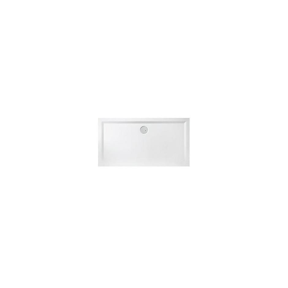 Sanplast Brodzik B-M/SPACE 80x90x1,5 biały - 458302_O1