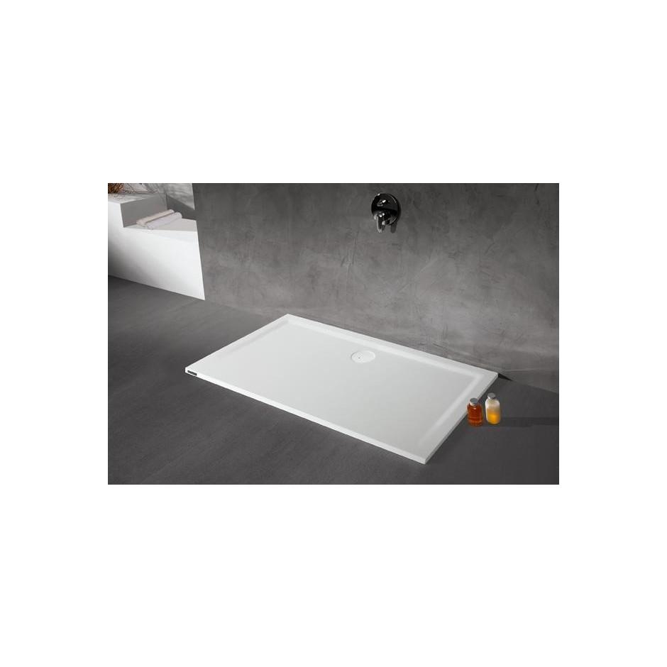 Sanplast Brodzik B-M/SPACE 100x120x1,5 biały - 634207_O1