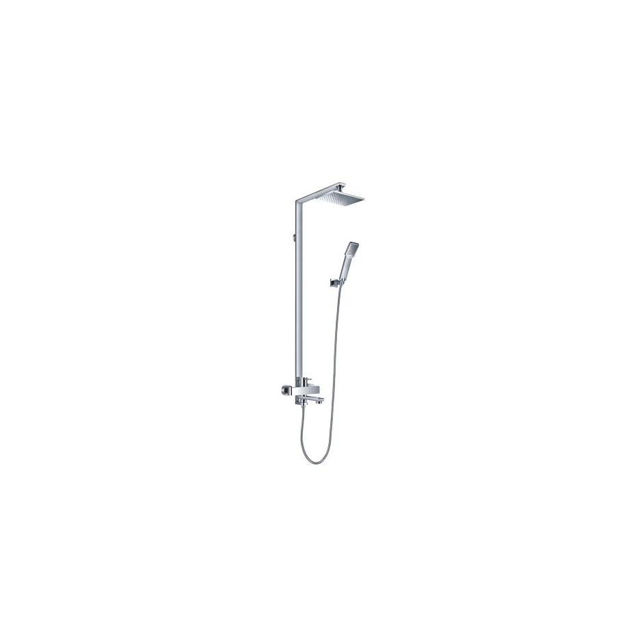 Omnires Darling system wannowy / prysznicowy natynkowy chrom - 767892_O1