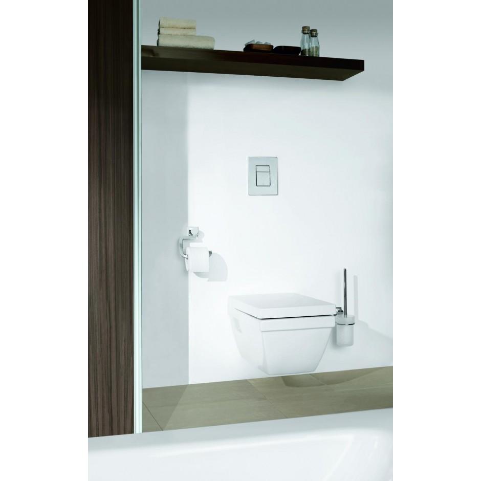 Grohe Rapid SL 4w1: Stelaż podtynkowy WC, 1,13 m + Przycisk Grohe Skate Cosmopolitan + wsporniki + mata (38840000+38732000+3855800M+12345678) chrom - 19005_O10
