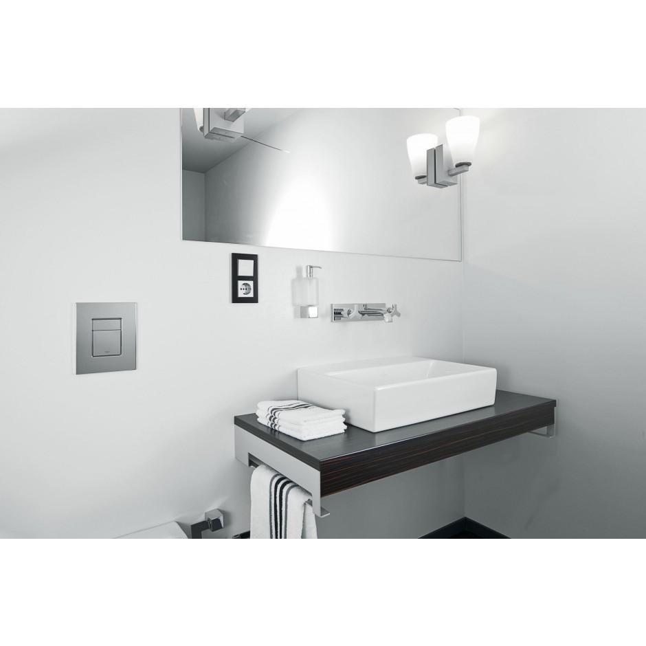 Grohe Rapid SL 4w1: Stelaż podtynkowy WC, 1,13 m + Przycisk Grohe Skate Cosmopolitan + wsporniki + mata (38840000+38732000+3855800M+12345678) chrom - 19005_O4