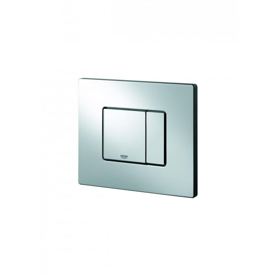 Grohe Koło Nova Pro Zestaw 6w1: Stelaż podtynkowy z miską WC wiszącą bezrantową/Rimfree, deską wolnoopadającą i przyciskiem (3884+M3312+M30112+38732) - 19005_O3