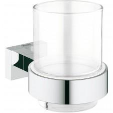 Grohe Essentials Cube szklanka z uchwytem - O1