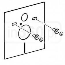 Grohe podkładka pod miskę lub bidet, Mata wyciszająca, pianka wygłuszająca - O1