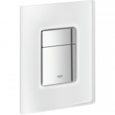 Grohe Skate Cosmopolitan przycisk uruchamiający szkło biały mrożony - O1