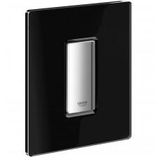 Grohe Skate Cosmopolitan przycisk uruchamiający szkło velvet black - O1