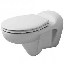 Duravit Duraplus Miska lejowa WC Bambi biała WonderGliss - 151683_O1