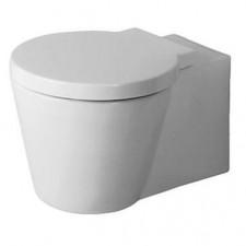 Duravit Starck 1 Miska WC wisząca 57,5x41 biała WonderGliss - 433533_O1