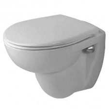 Duravit Duraplus Miska lejowa WC wisząca Compact WonderGliss - 151797_O1