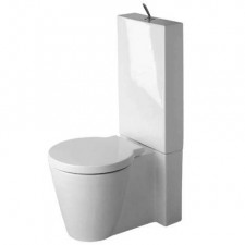 Duravit Starck 1 Kompakt WC stojący biały WonderGliss - 450051_O1