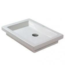 Duravit 2nd floor umywalka nablatowa 58 biała WonderGliss - 392688_O1