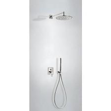 Tres Mono-Term kompletny zestaw prysznicowy podtynkowy deszczownica o300mm stalowy - 754355_O1