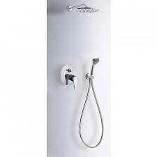 Tres Eco-Tres kompletny zestaw prysznicowy podtynkowy deszczownica o225mm chrom - 525561_O1