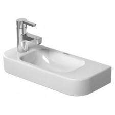Duravit Happy D.2 umywalka mała bez przelewu, otwór na baterię z prawej strony 50x22 Biała - 558955_O1