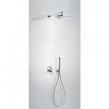 Tres Lex-Tres kompletny zestaw prysznicowy podtynkowy termostatyczny deszczownica średnica250mm chrom - 755440_O1