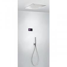 Tres Shower Technology kompletny zestaw prysznicowy podtynkowy termostatyczny elektroniczny 2-drożny chrom - 749246_O1