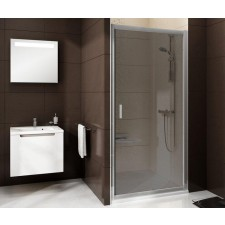 Ravak Blix drzwi prysznicowa BLDP2-120 bright alu + transparent - 683514_O1