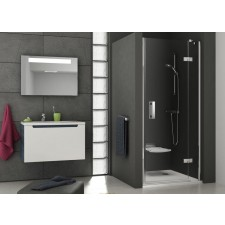 Ravak SmartLine drzwi prysznicowa SMSD2-120 B-L chrom transparent - 467165_O1