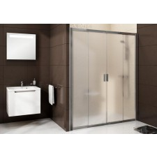 Ravak Blix drzwi prysznicowa BLDP4-170 satyna + transparent - 683344_O1