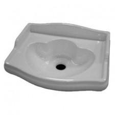 Kerasan Retro umywalka wisząca 41x32 biała - 464051_O1