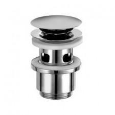 Kludi syfon umywalkowy Push-Open, korek zawór Klik-Klak do umywalki z przelewem - 428871_O1