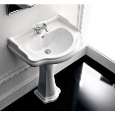 Kerasan Retro umywalka meblowa 1\otw. 690 biała - 528609_O1