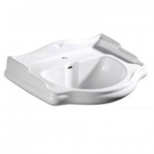 Kerasan Retro umywalka wisząca 73x54 biała - 490620_O1