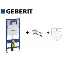 Geberit Zestaw Stelaż podtynkowy duofix Sigma H112 z matą i wspornikamiO1