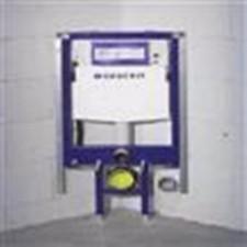 Geberit Duofix - element montażowy do WC narożny, UP320, Sigma, H112O1