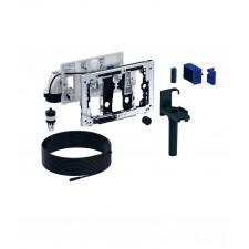 Geberit DuoFresh Moduł z automat. uruchamianiem i pojemnikiem na kostkę, do spłuczki Sigma 12 cm: Chrom błyszczący - 779740_O1