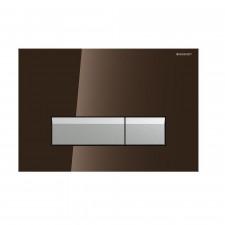 Geberit Sigma50 Przycisk do WC z funkcją odciągu powietrza szkło umbra/aluminium - 461187_O1