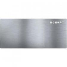 Geberit Sigma70 Przycisk uruchamiający, 12cm, zdalny, stal nierdz. - 551716_O1