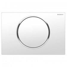 Geberit Sigma10 Przycisk uruchamiający przedni, biały mat - 779753_O1